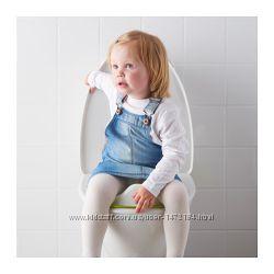 Детская накладка на унитаз ИКЕА ТОССИГ IKEA TOSSIG 102. 727. 88