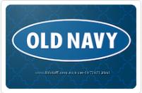Продам гифт карты Old Navy - GAP с дисконтом