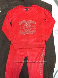 c9110f22e89c Спортивные костюмы для девочки велюр пр. Турция р. 92-140, 750 грн ...