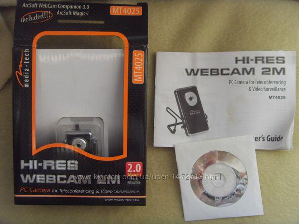 Media-tech hi-res webcam 2m вэб камера