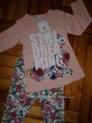 Супер стильный костюм, комплект для девочки 3-6 лет. Турцияотличное качест