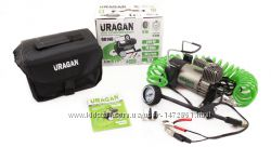 Автомобильный компрессор URAGAN 90140 однопоршневой Ураган