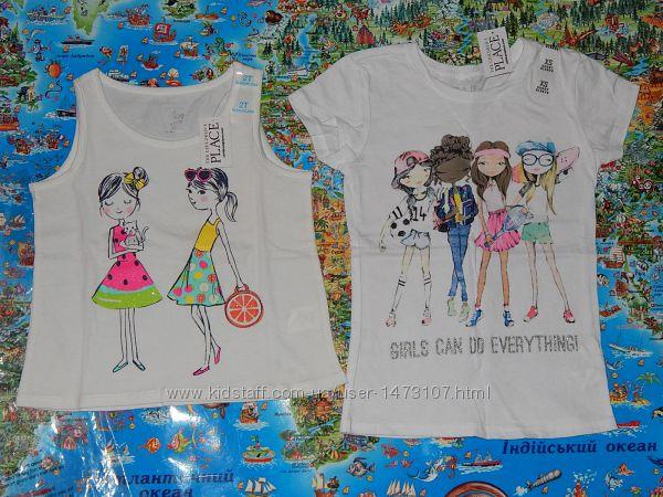 Нові футболки The Children&acutes Place 2Т, 4Т