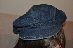 Джинсовая кепка шапка NEXT для девочки на 3 - 6 лет, состояние новой.