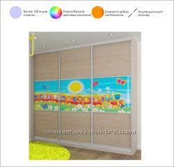 e9f6fe7f2189 Шкаф-купе для детской комнаты под заказ от Дизайн-Стелла, Киев, 5500 ...