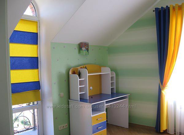 Шторы, жалюзи для детской комнаты от Дизайн-Стелла, Киев