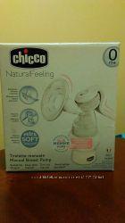 Молокоотсос Chicco Natural Feeling ручного типа