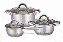 Наборы посуды Vincent, Peterhof, Lessner различной комплектации.