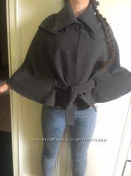 Пальто-накидка-пончо. Дизайнерская вещь