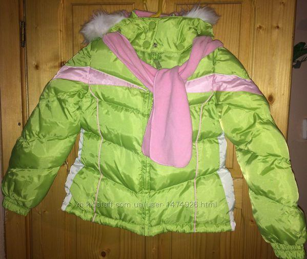 Куртка осень-зима LondonFog с капюшоном