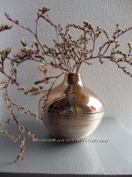 Стильная ваза- подсвечник с зеркальным покрытием