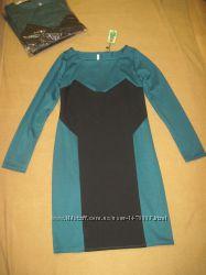 Новые красивые женские платья в стиле блок-колор, р. 48, 50, 52