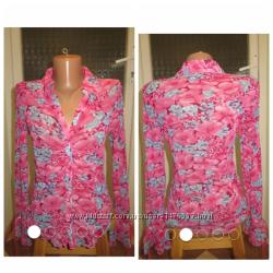 Новая фирменная блузка-рубашка Англия, р. 12 m-l , сток