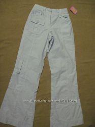 Новые хлопковые брюки на девочку 11 лет ТМ Marks&Spenser