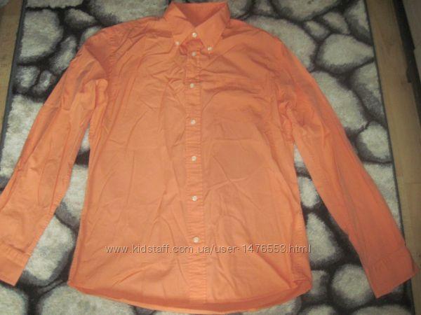 Новая фирменная мужская рубашка, хлопковая, р. XL-2xl, сток