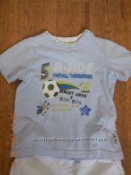 Футболка Mothercare, р. 86-96, мальчику 1, 5-2, 9 лет
