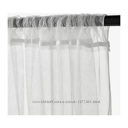 В наличииГардины Лилльнежный тюль сеткаИкеа Ikea 2шт в упаковке. Размер