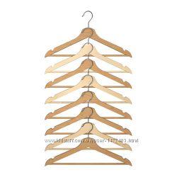 Плечики, вешалки для одежды Bumerang Ikea Икеа 8 шт в наличии