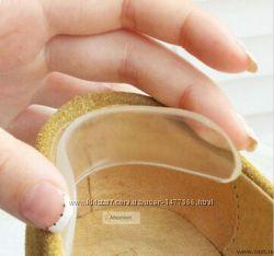 Гелевые вкладыши в обувь силиконовые запяточники от натирания Yourstep Герм