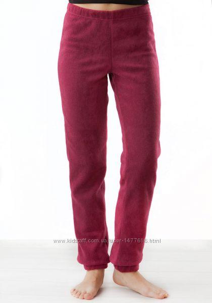 Теплые мягкие флисовые штаны