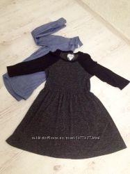 Катоновая рубашка H&M плюс платье