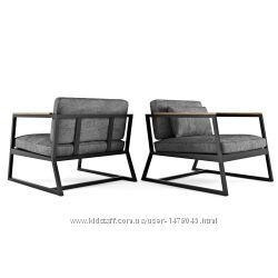 дизайнерское кресло в стиле лофт в ассортименте