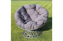 кресло плетеное papasan из искусственного ротанга