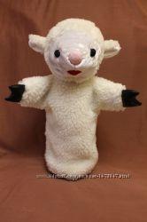 Кукольный театр игрушка на руку перчатка овечка