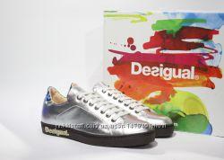 кожаные кроссовки-сникеры Desigual, Испания-Оригинал