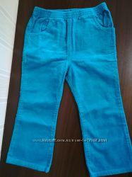Вельветовые брюки на девочку 2-3года