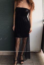 Вечірня сукня Tally Weijl  паєтки органза р. М р. 38  максі
