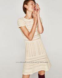 fa63fc55dbf Вязаное платье Zara