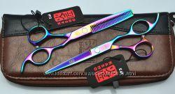Ножницы для стрижки волос KASHO, комплект.