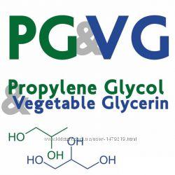 PG VG Глицерин и пропиленгликоль пищевой