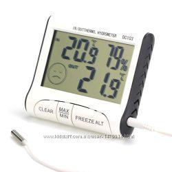 Термометр-гигрометр DC103 c выносным датчиком температуры