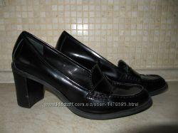 Кожаные туфли Franco Sarto Италия 39р. ,  длина стельки 26 см