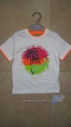 Новая футболка Mothercare, хлопок 100, 3-4 года  104 р.