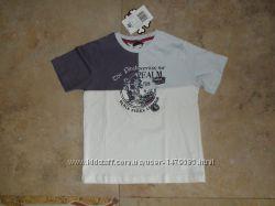 Новая футболка Chicco, 116р. на 5-6 лет, 100 тонкий хлопок