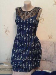 Cтильное платье ласточки, 44-46р.