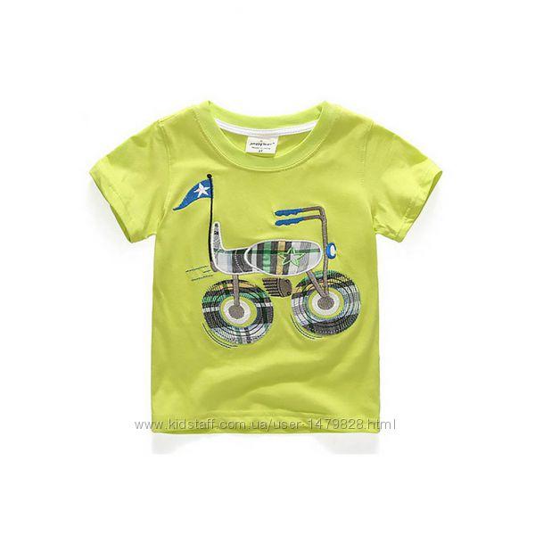 Новые футболки в ассортименте Jumping meters