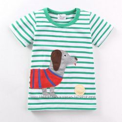 Новые футболки в ассортименте Jumping beans на рост 80, 86, 92, 98, 104, 1