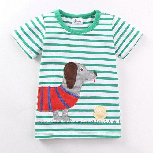 Новые футболки в ассортименте Jumping beans на рост 80, 86, 92, 98, 104, 11