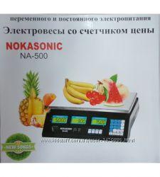 Весы торговые Nokasonic до 50 кг