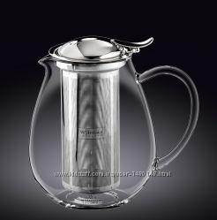 Высококачественный элегантный Чайник заварочный WILMAX Termo Glass 650 мл