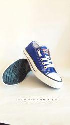 Женская обувь кеды кроссовки Converse Конверсы темная подошва