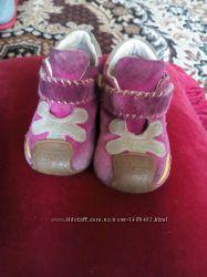 Замшевые ботиночки сhicco р. 18