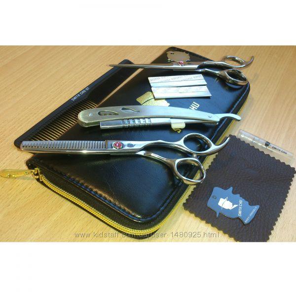 Ножницы парикмахерские профессиональные набор SMITH CHU 6