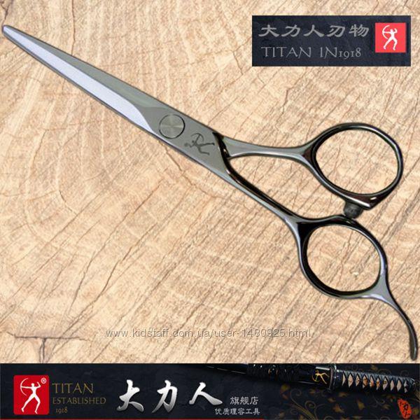 Профессиональные японские парикмахерские ножницы TITAN