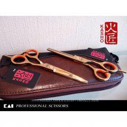Парикмахерские ножницы KASHO 5. 5&acute Japan -в наличии-