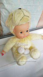 Классный меховый пупс кукла хорошего качества. В отличном состоянии